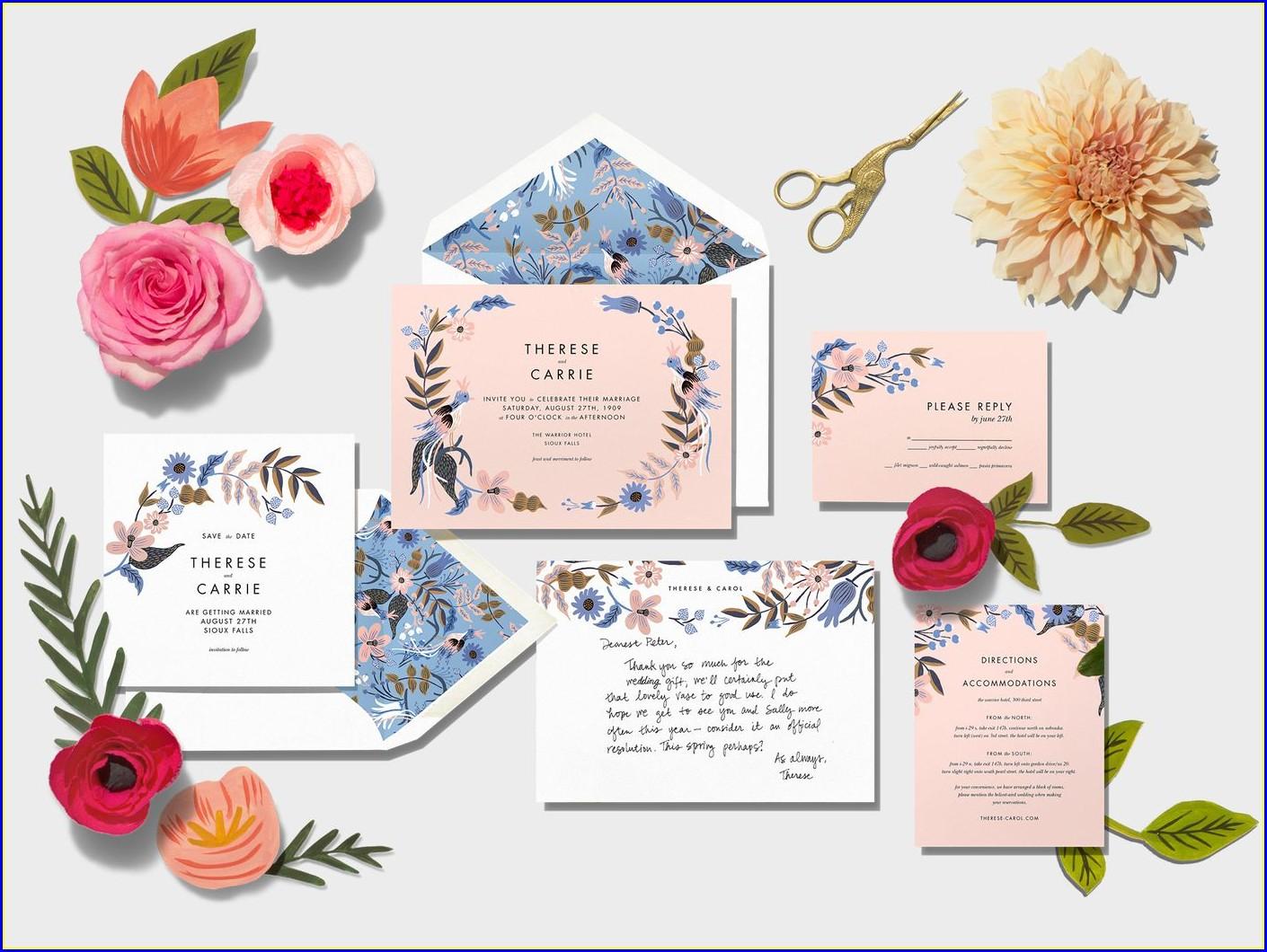 Paperless Post Wedding Invitations Cost