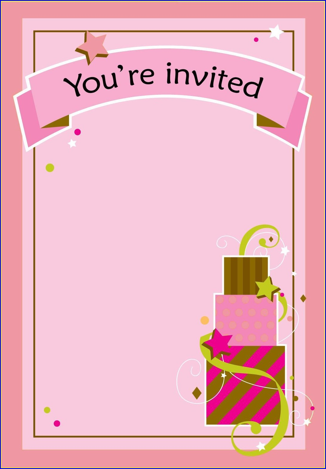 Paris Birthday Invitations Free Printable