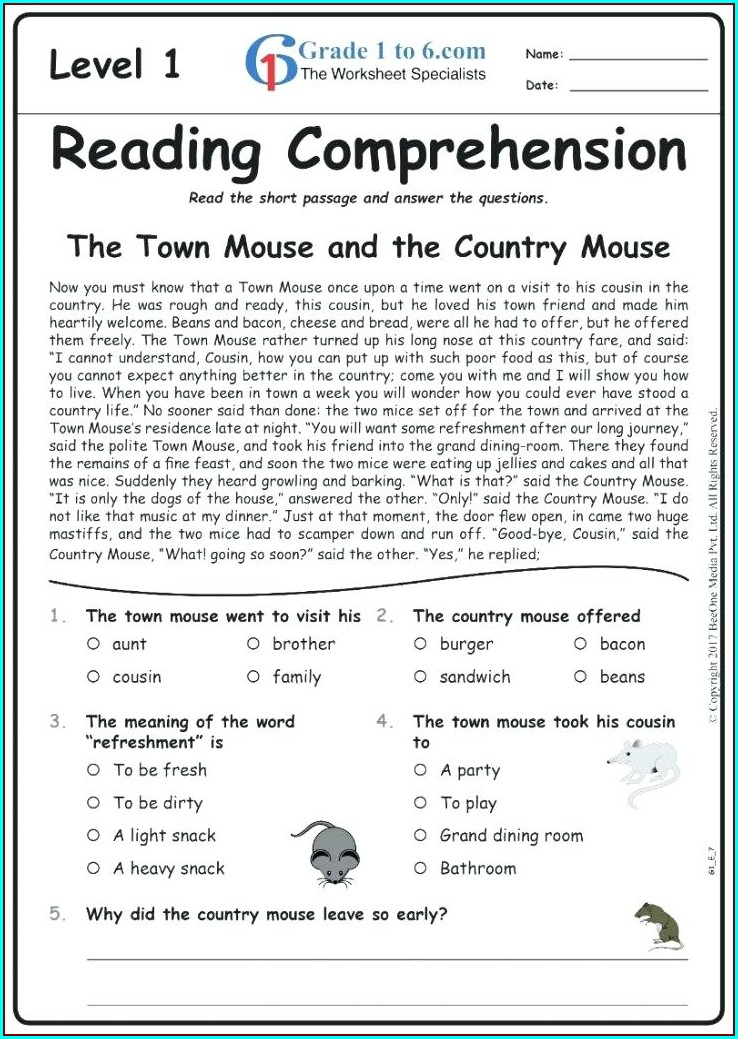 Pdf English Grammar Worksheets For Grade 2 With Answers