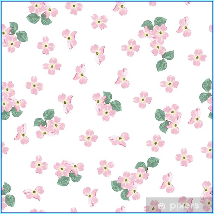 Pink Floral Background For Wedding Invitation