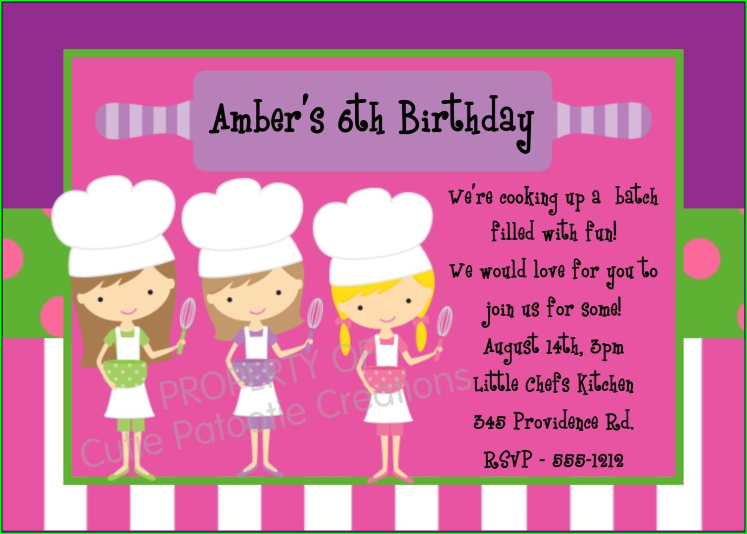 Print Birthday Invitations Free