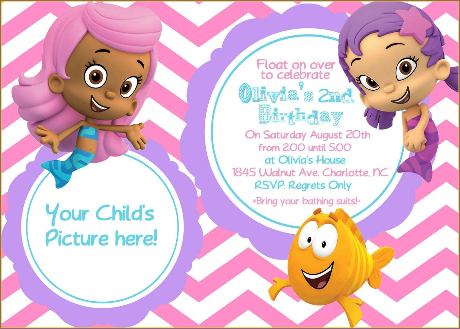 Printable Birthday Invitation Cards For Kids