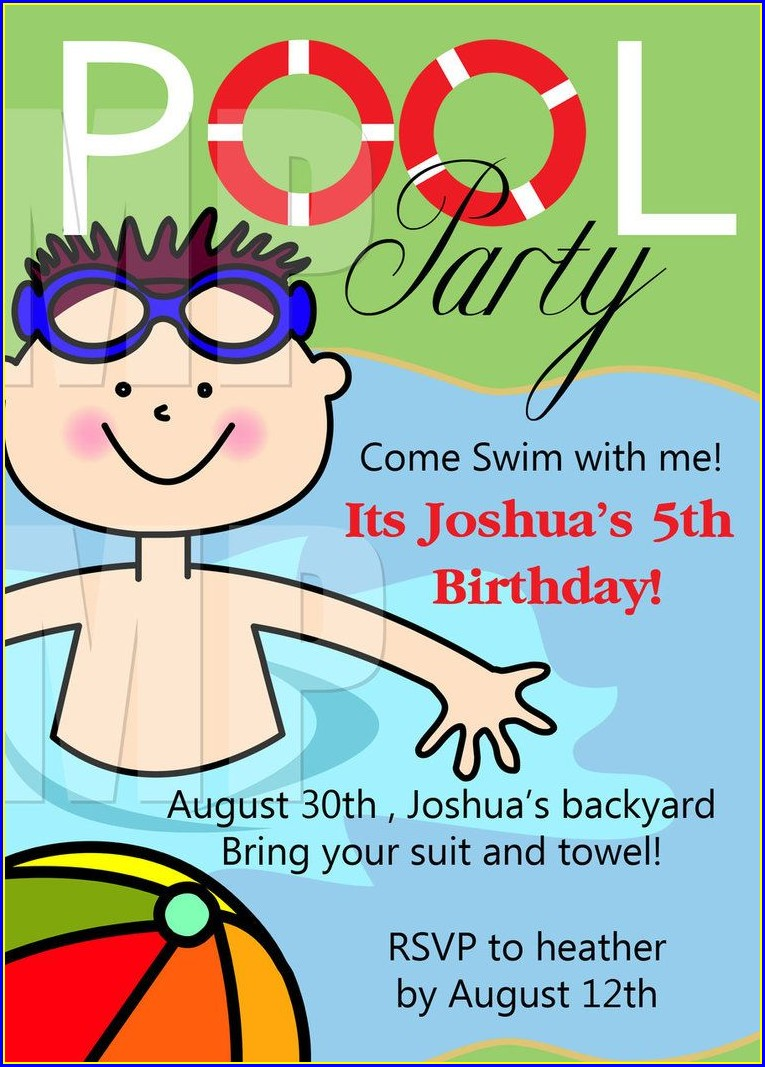 Printable Birthday Invitations Boy Free