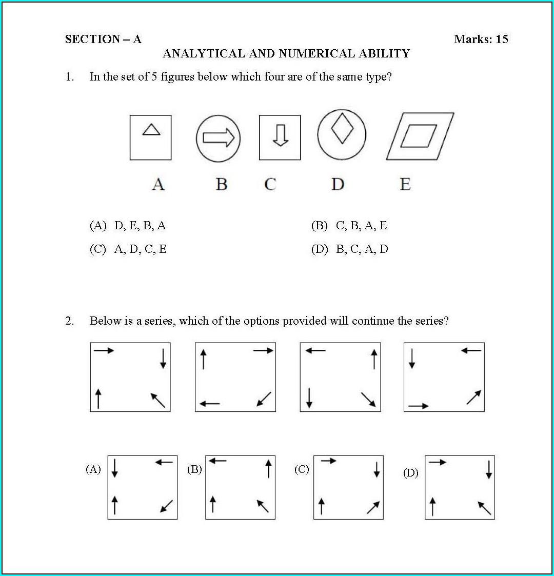 Printable Jr Kg English Worksheets