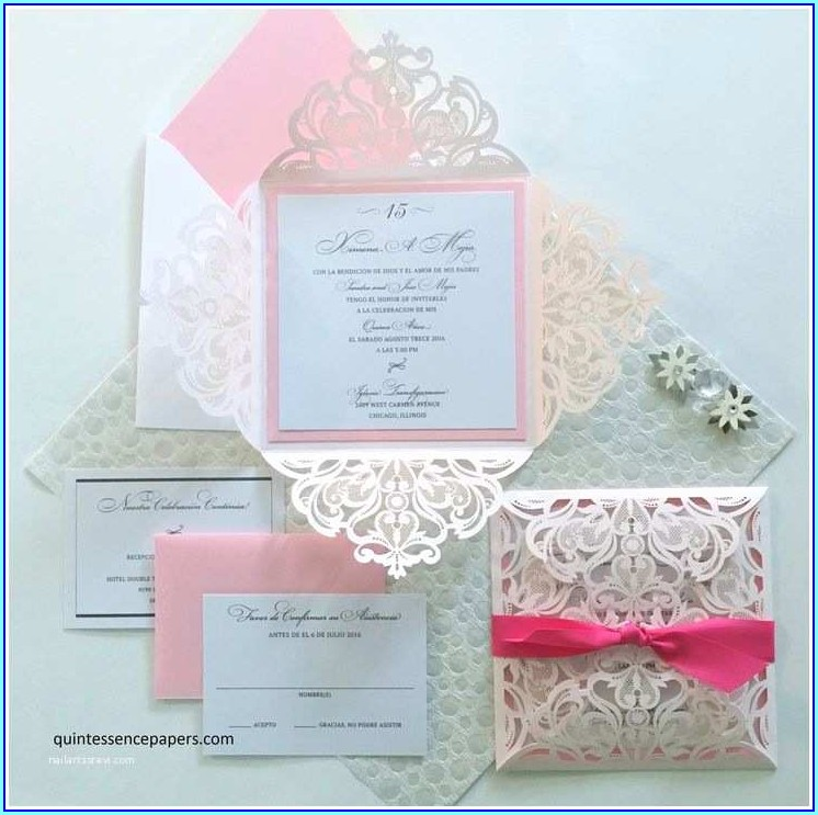 Quince Invitations In English