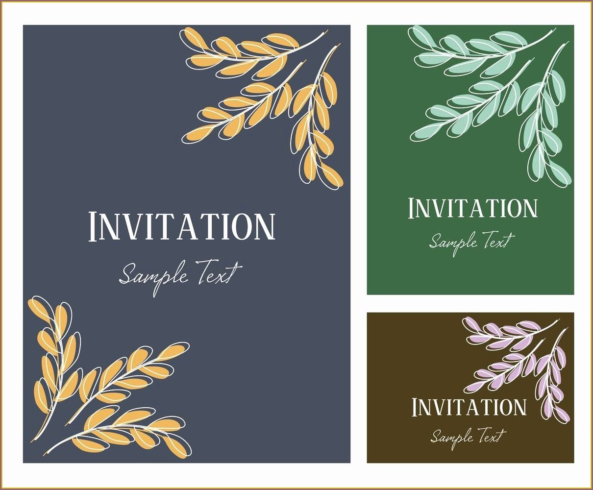 Retirement Dinner Invitation Template