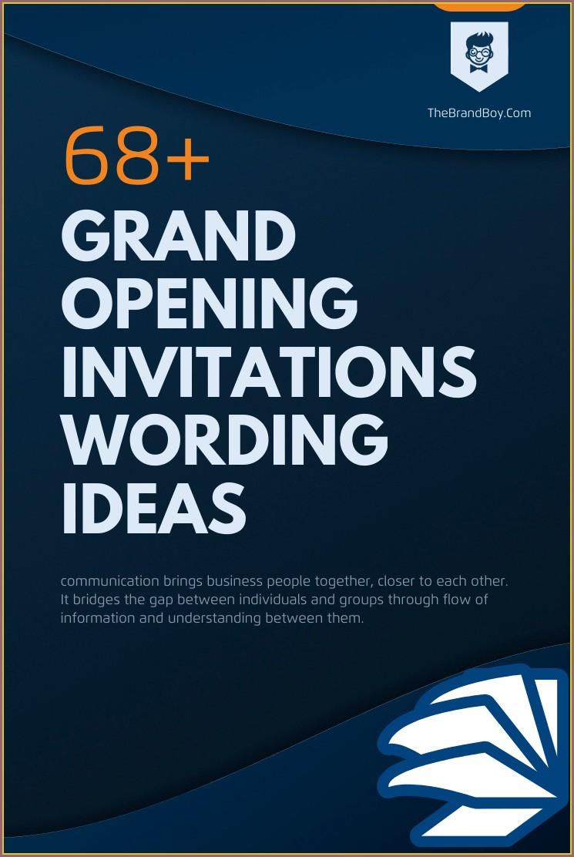 Salon Opening Invitation Message