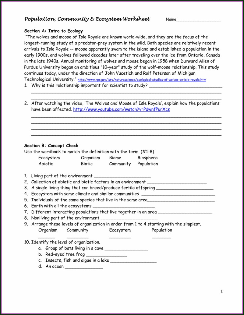Science News Worksheet Answers
