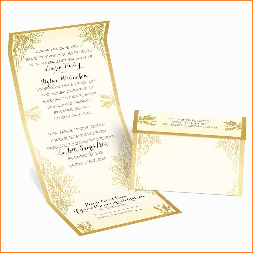Seal And Send Wedding Invitations Vistaprint