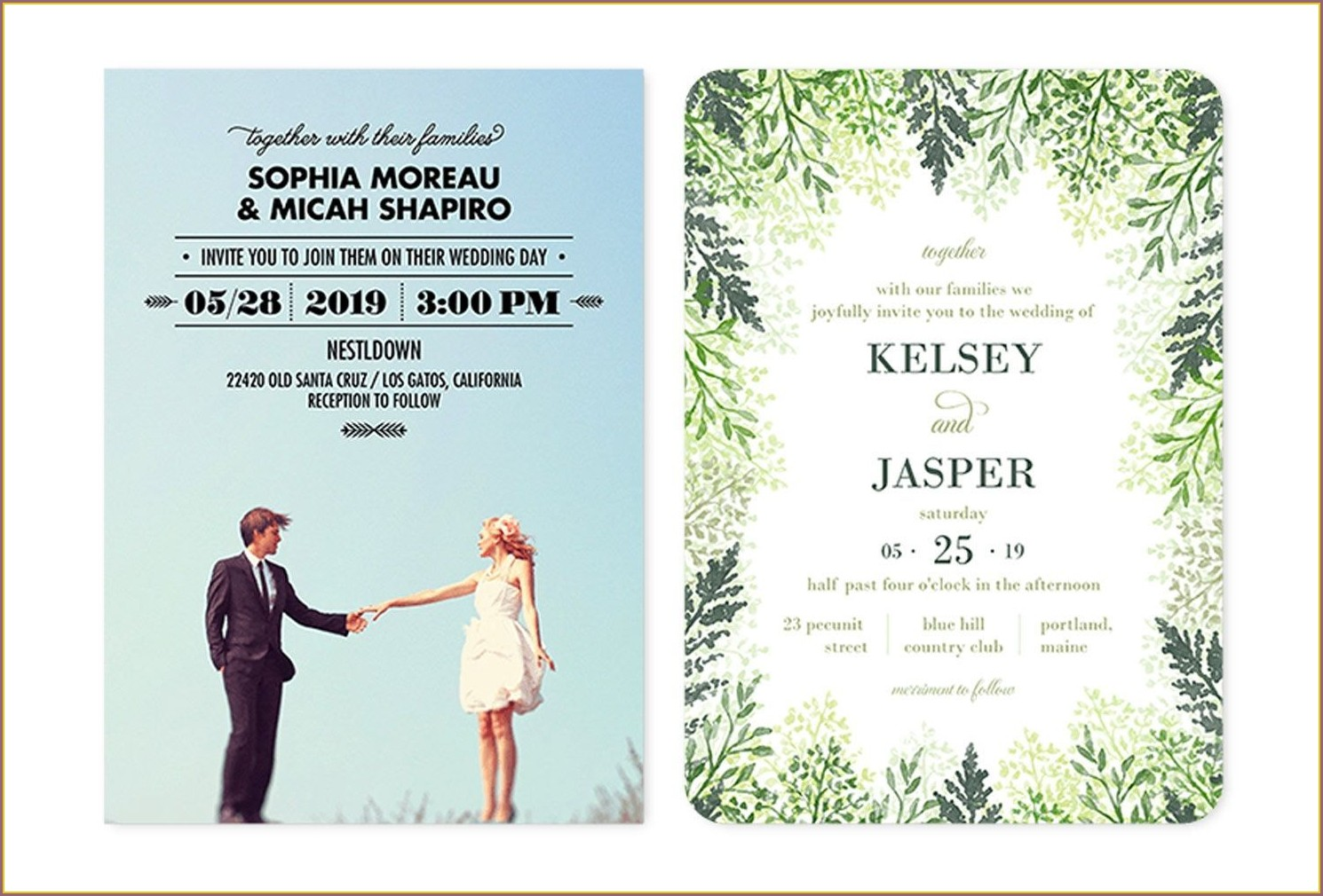 Shutterfly Wedding Reception Invitations
