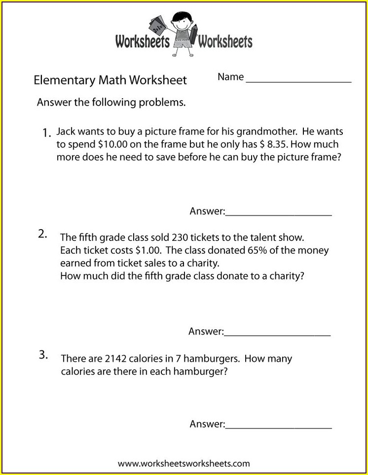 Sixth Grade 6th Grade Math Worksheets Division