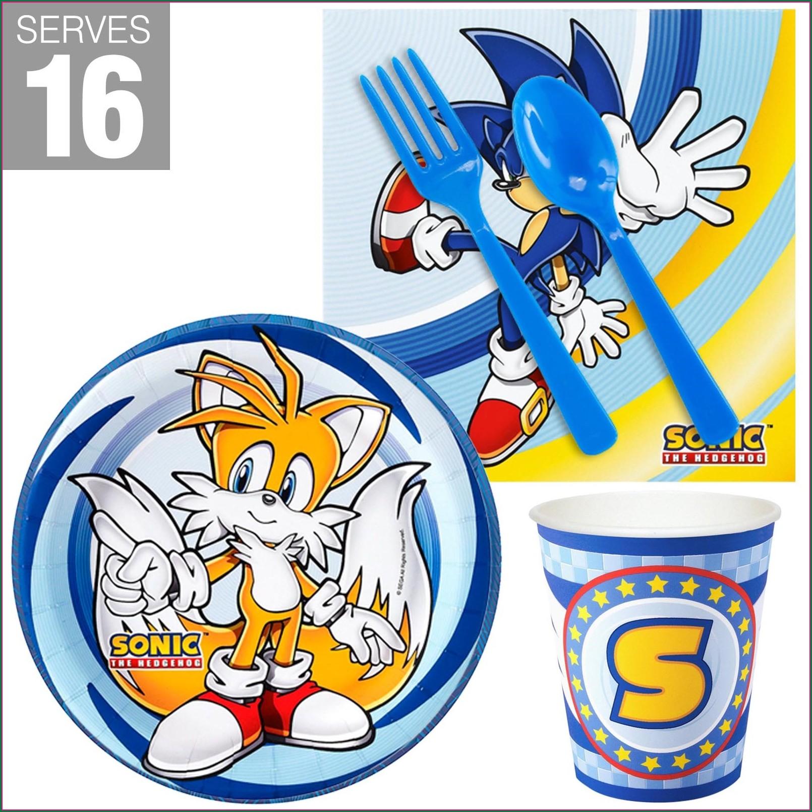 Sonic The Hedgehog Birthday Invitations