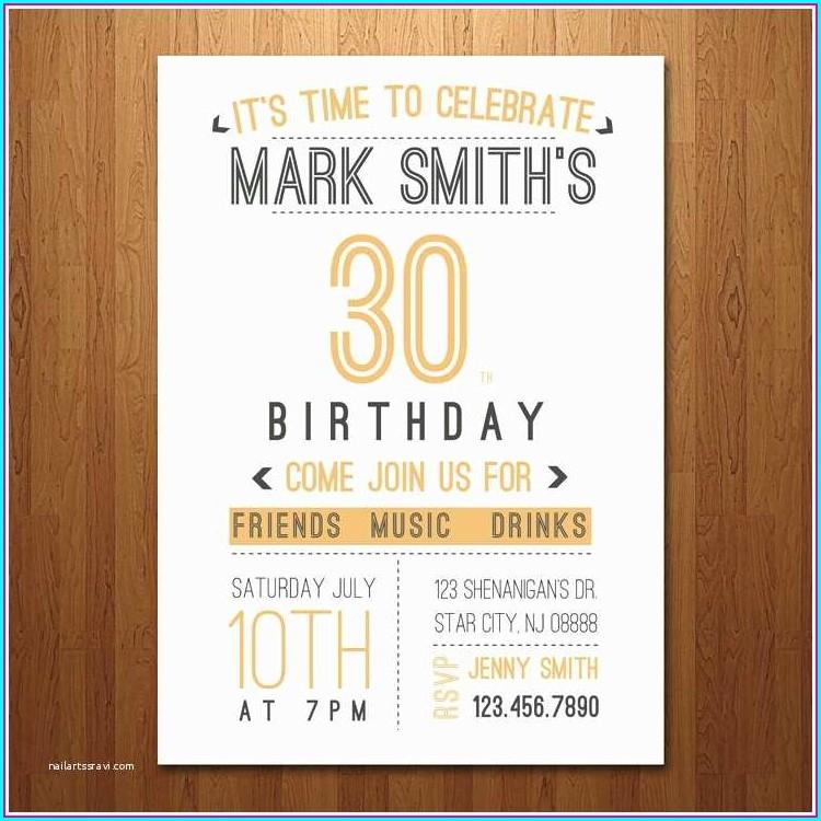 Surprise 60th Birthday Invitations For Him