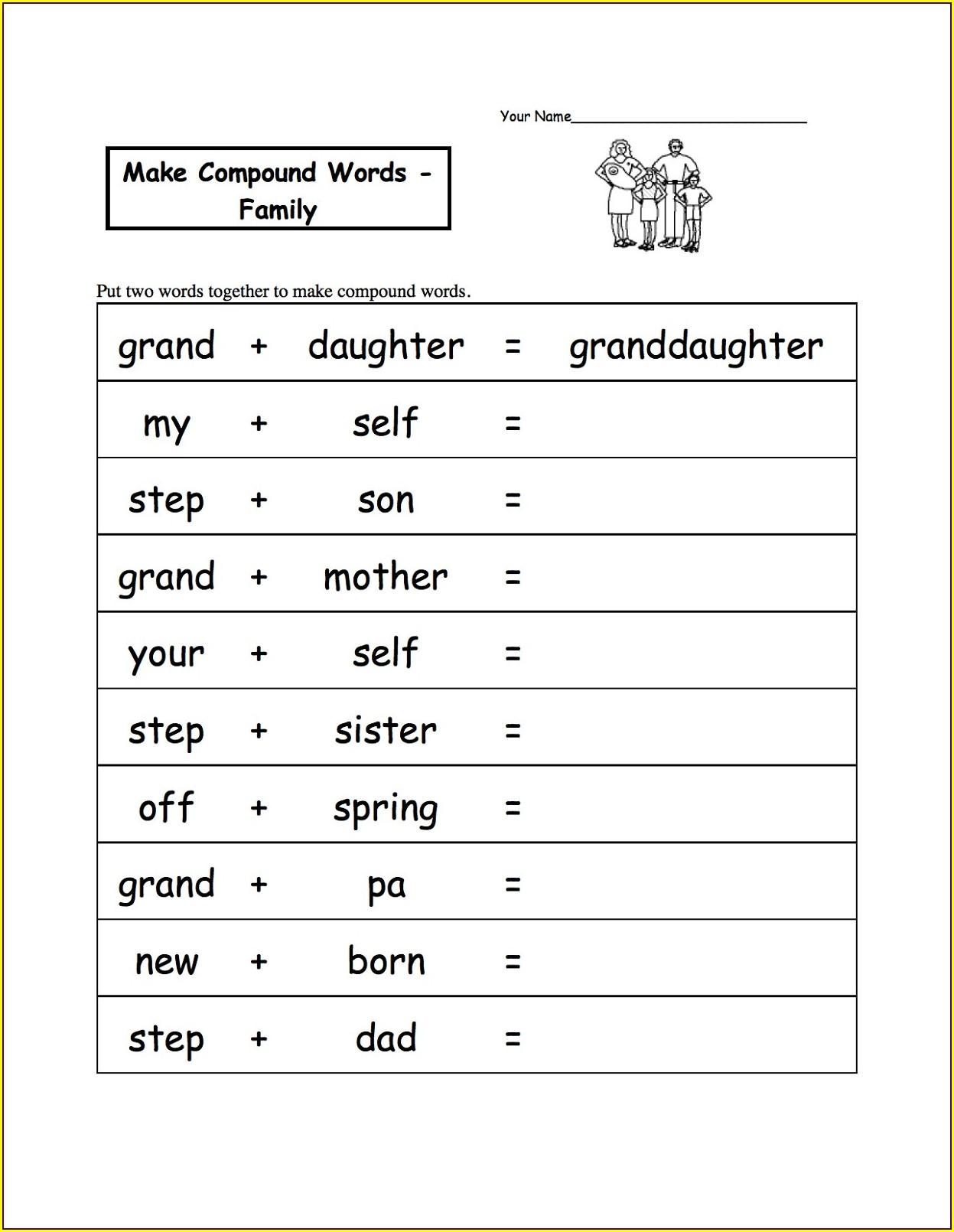 Third Grade 3rd Grade Worksheets English
