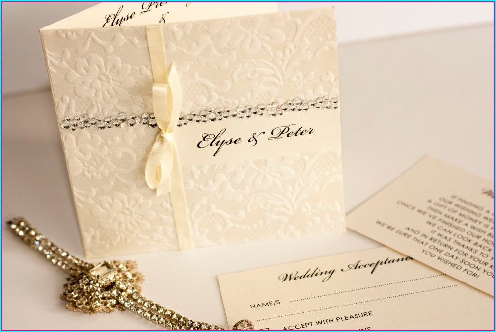 Vintage Wedding Invitations Ideas