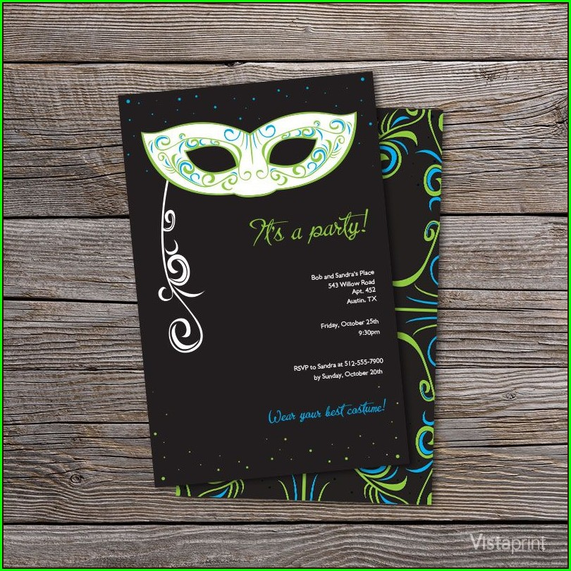 Vistaprint Sweet 16 Invitations