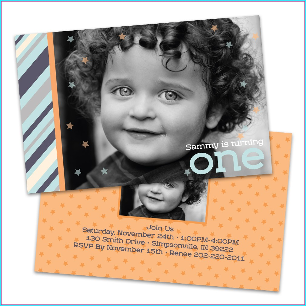 Walmart Birthday Invitations Photo