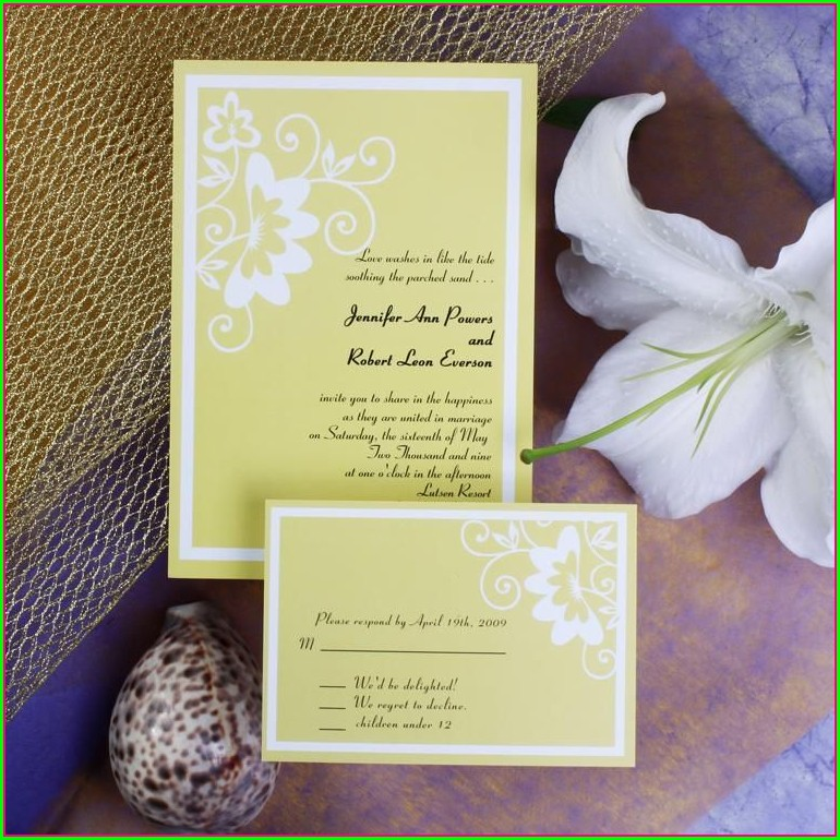 Walmart Custom Wedding Invitations