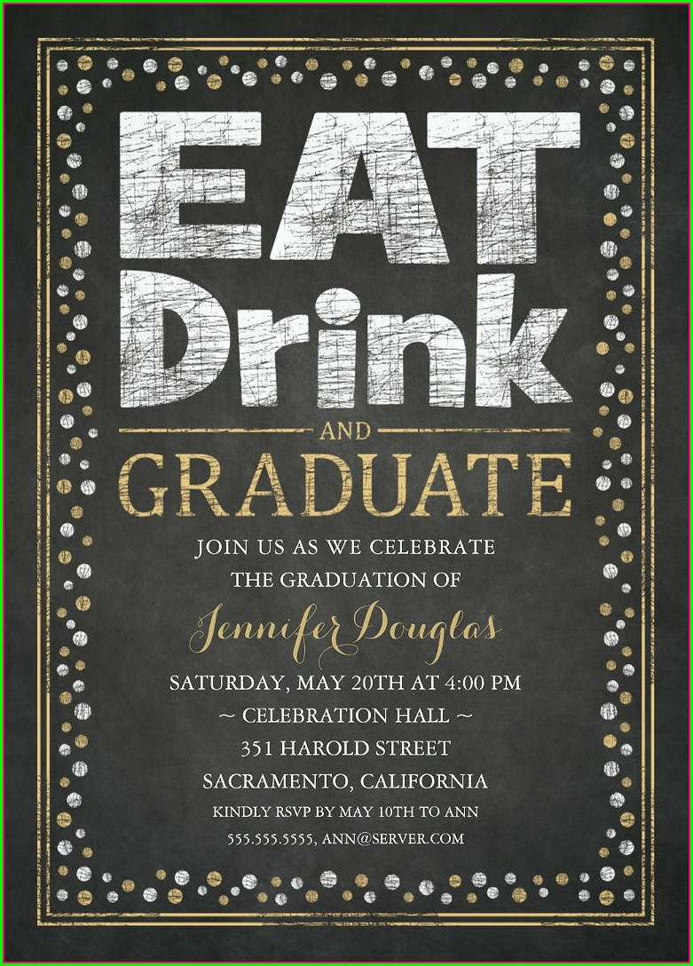 Walmart Graduation Invitation Cards