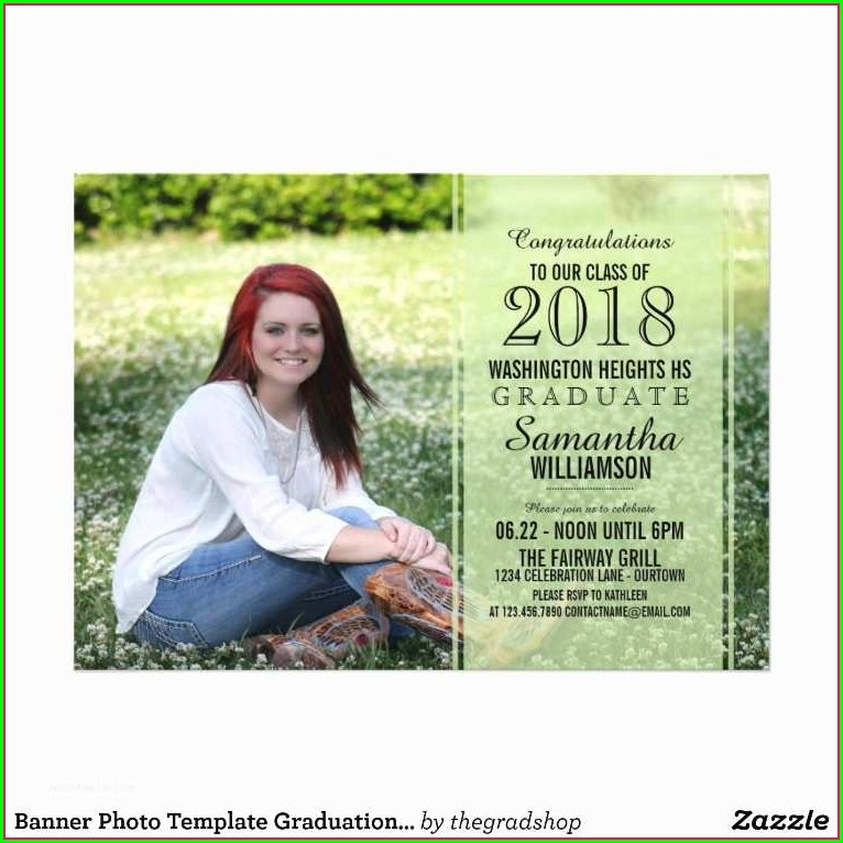 Walmart Photo Graduation Invitations