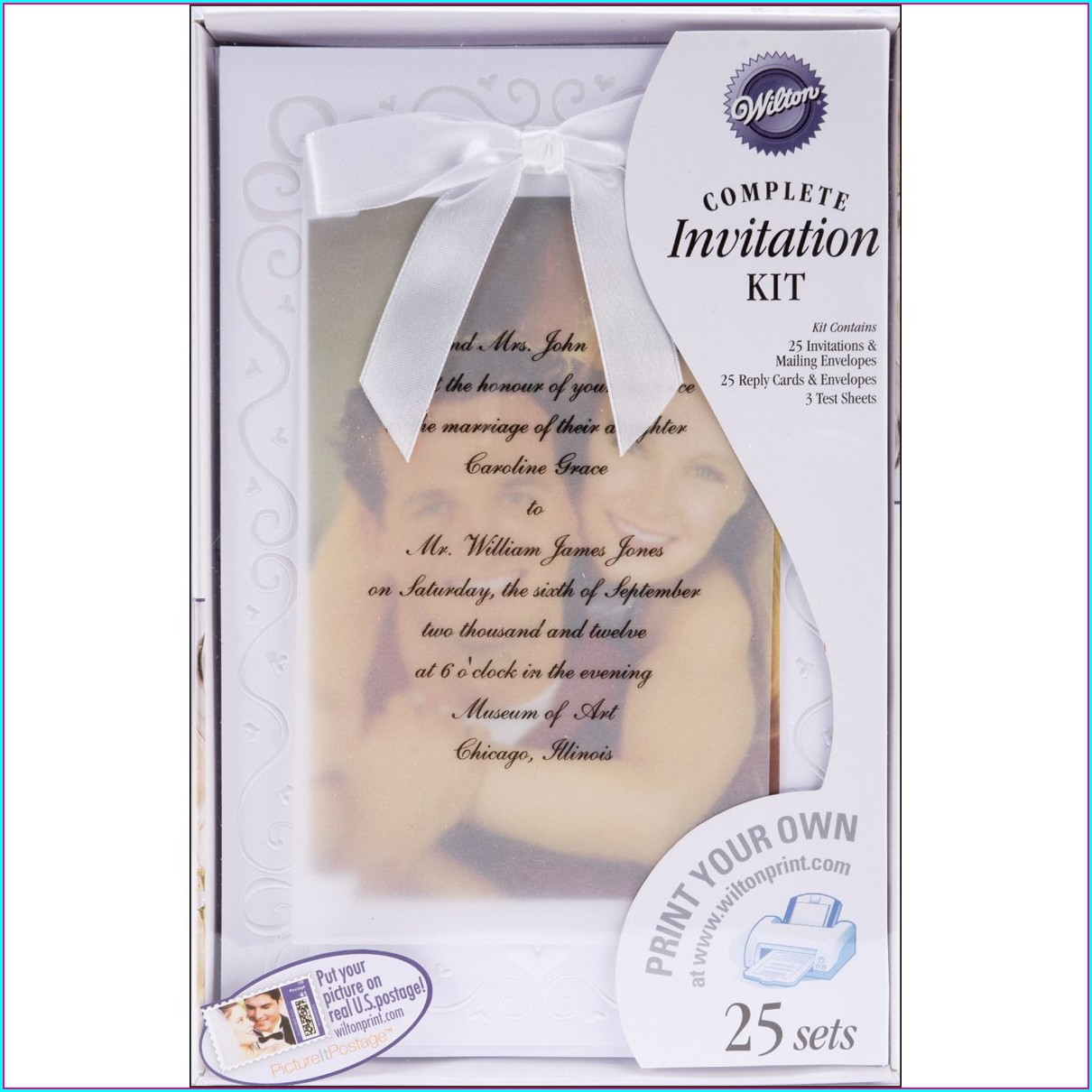 Walmart Wedding Invitations Kits