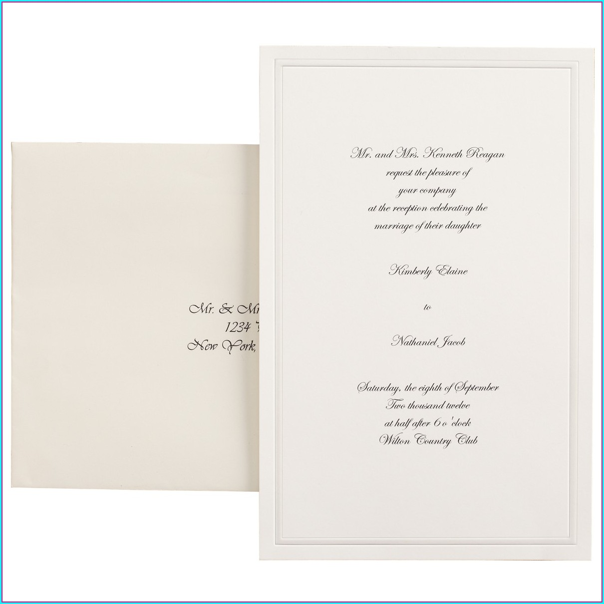 Walmart Wedding Invitations Photo Center