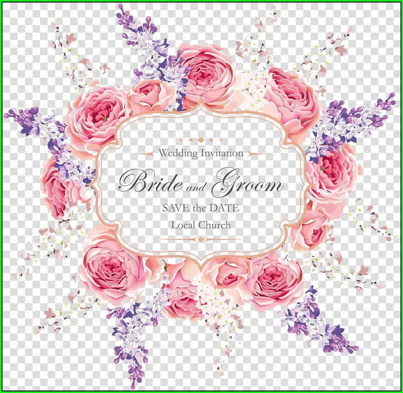 Wedding Invitation Background Hd Png