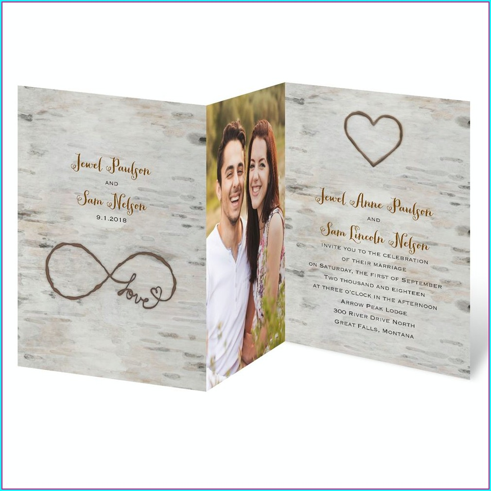 Wedding Invitation Templates With Photo Free