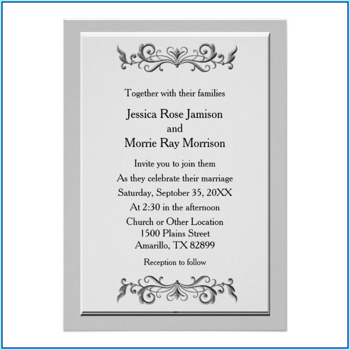 Wedding Invitations Amarillo Tx