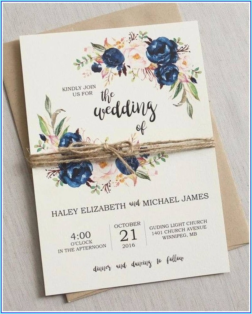 Wedding Invitations Under 1