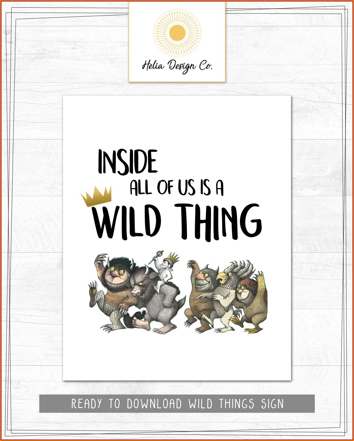 Where The Wild Things Are Birthday Invitations