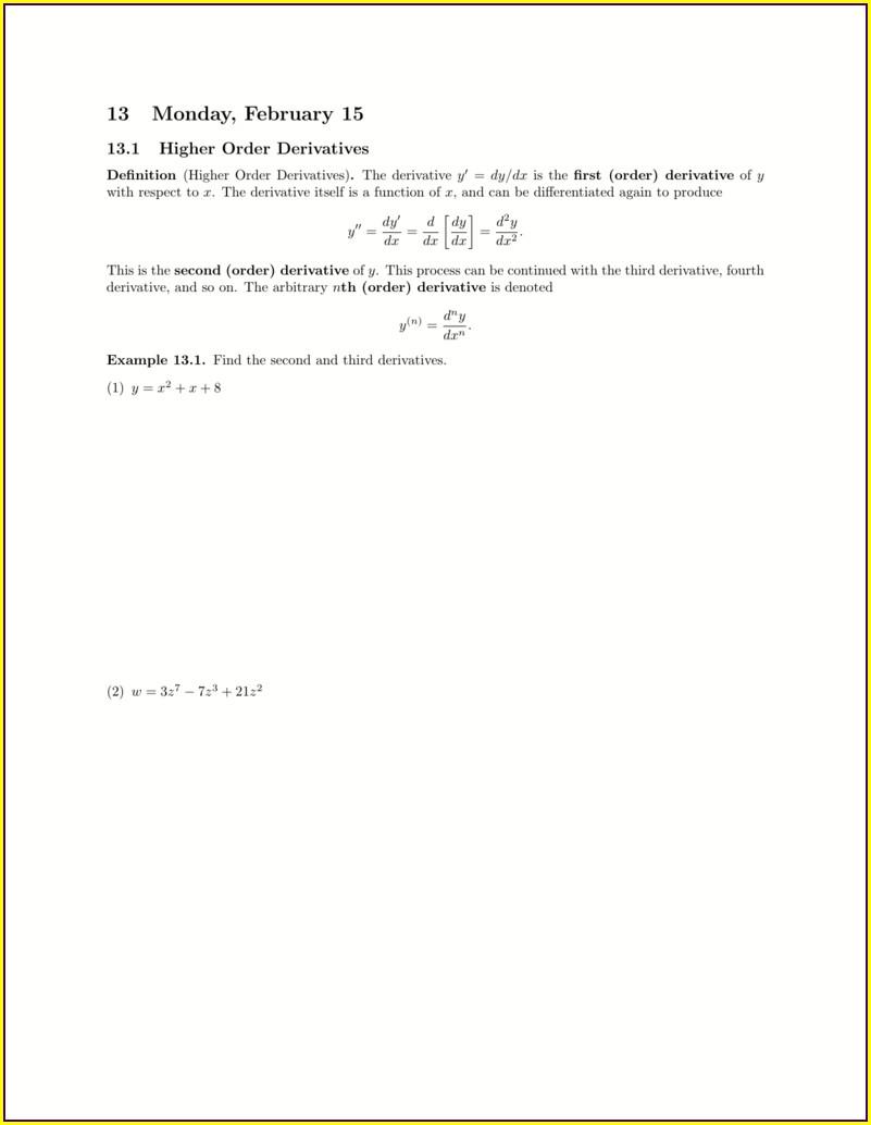 Word Equations Worksheet W327