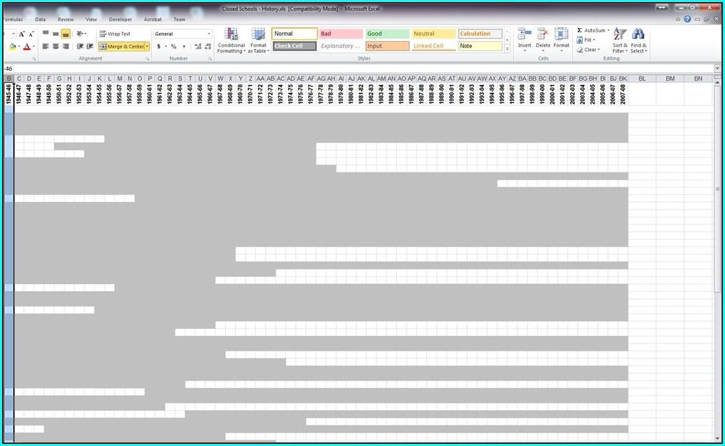 Worksheet Is Excel 2010