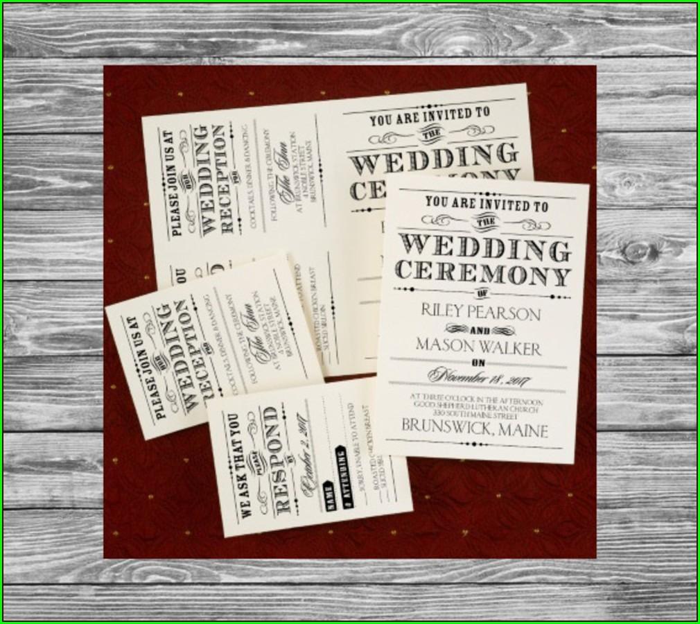 Www Carlson Craft Com Wedding Invitations