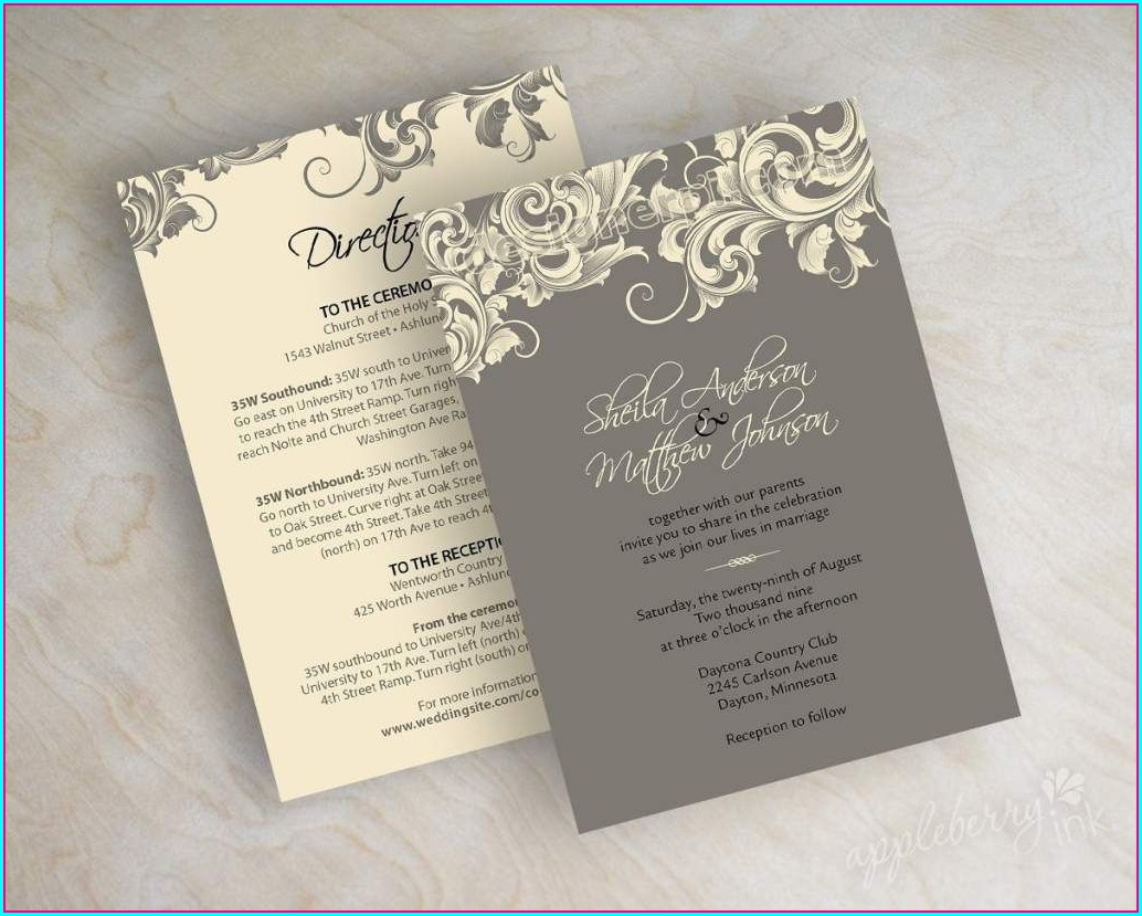 Zazzle Wedding Invitations Samples
