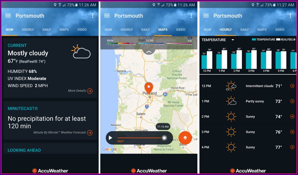Accuweather Radar Map App