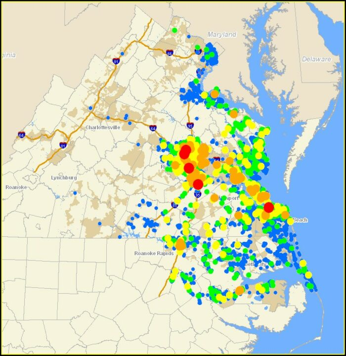 Aep Outage Map Va