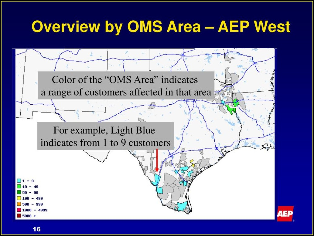 Aep Power Outage Map Corpus Christi