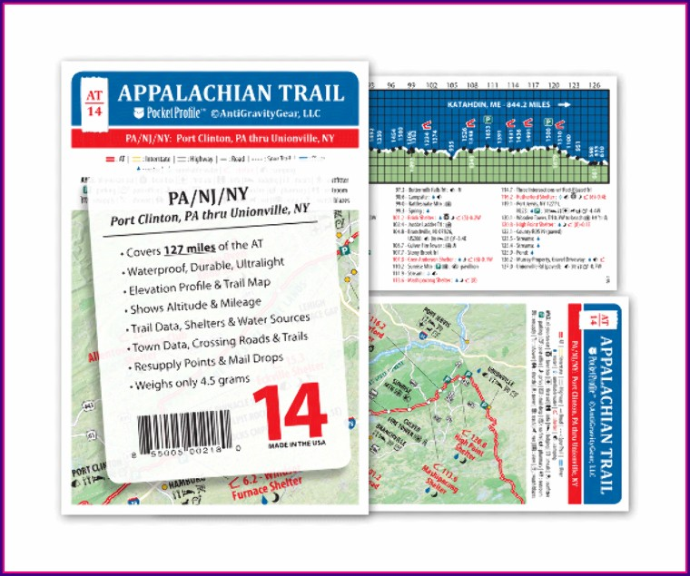 Appalachian Trail Map Pa