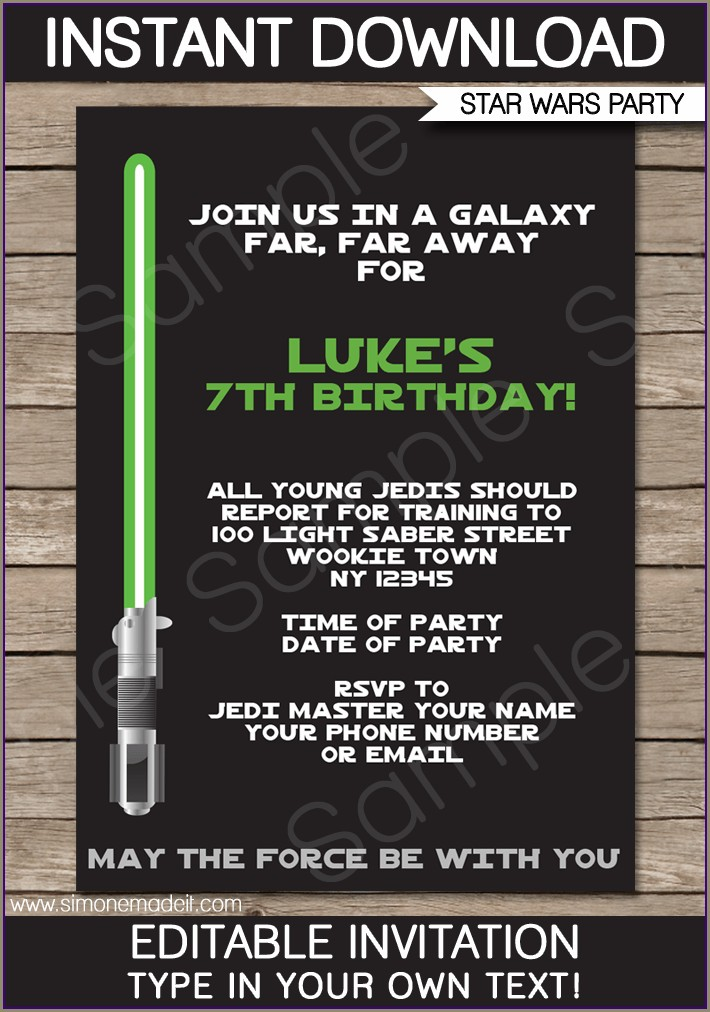 Background Galaxy Invitation Template Free Star Wars Galaxy