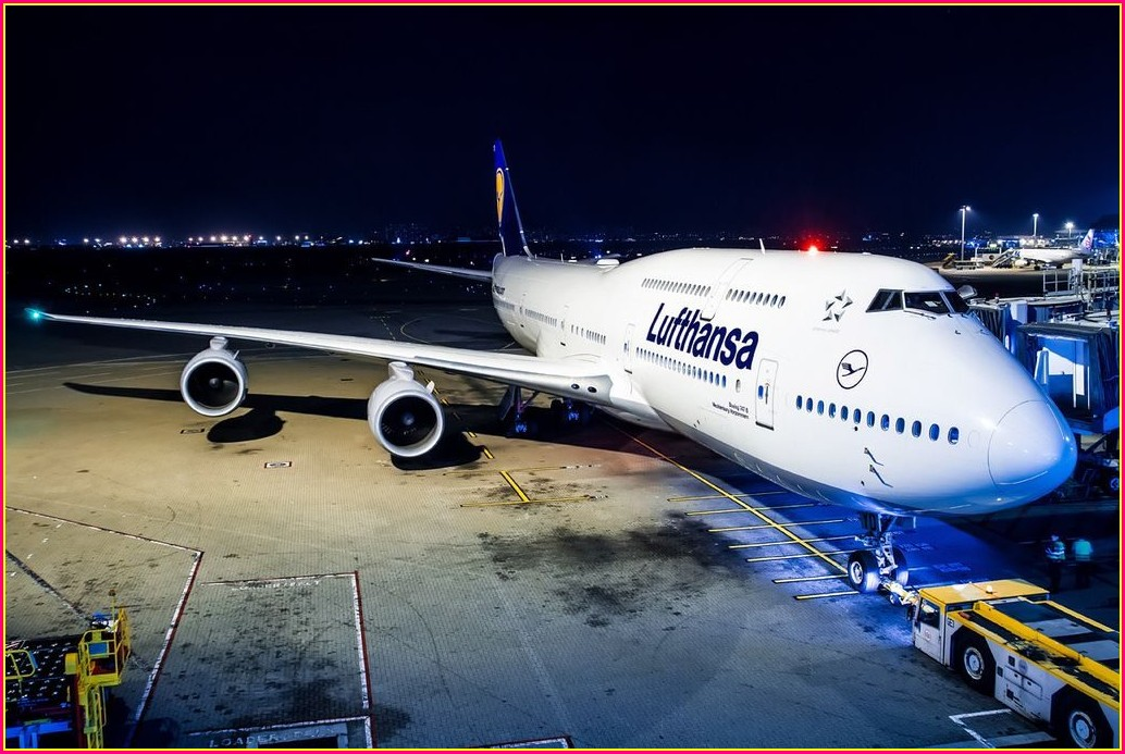 Boeing 747 8i Lufthansa Seat Map