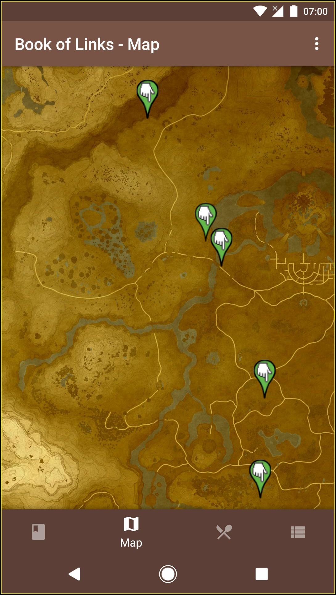 Botw Interactive Map App