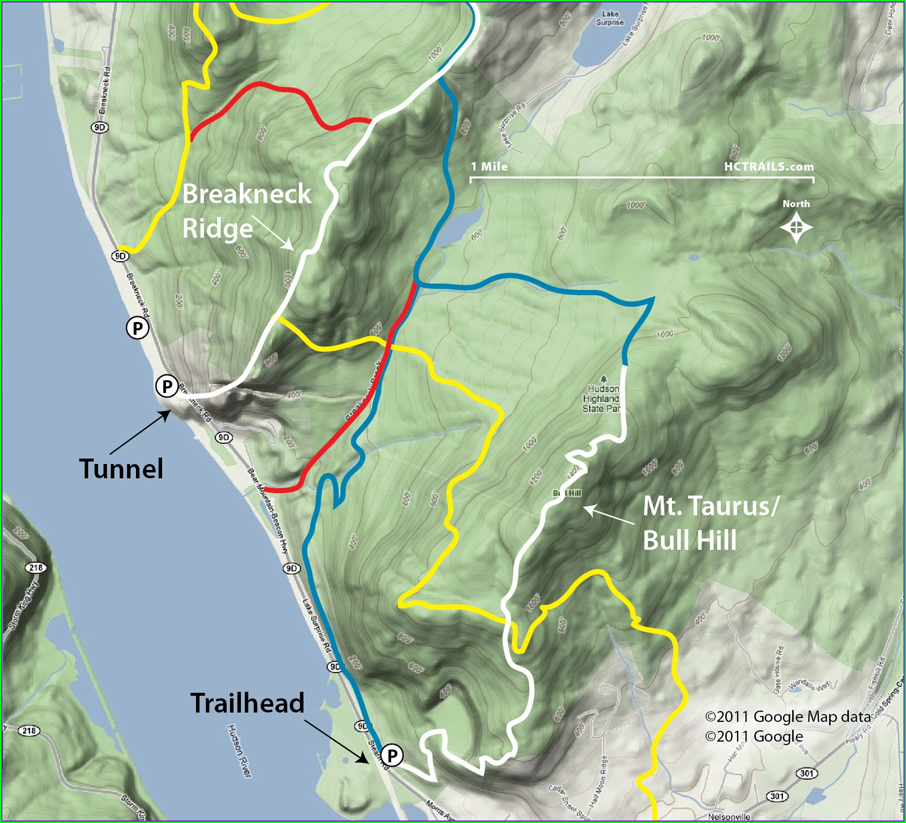 Breakneck Ridge Trail Map Pdf