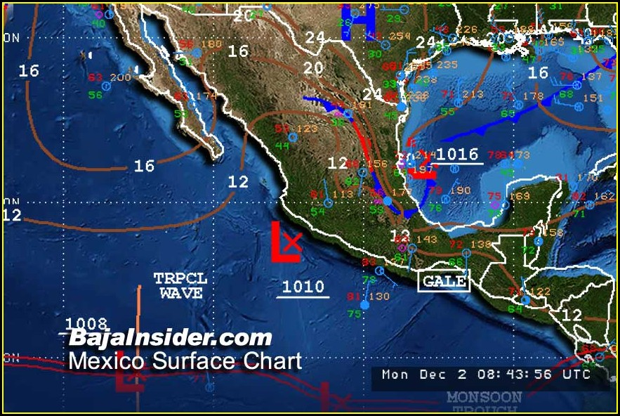 California Weather Map Forecast