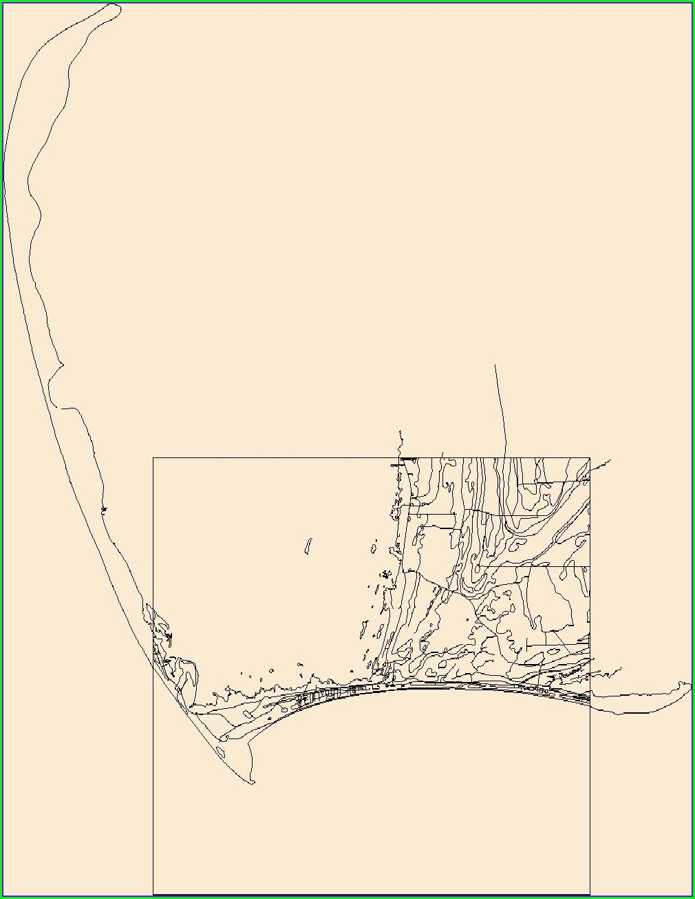 Cape San Blas Florida Map