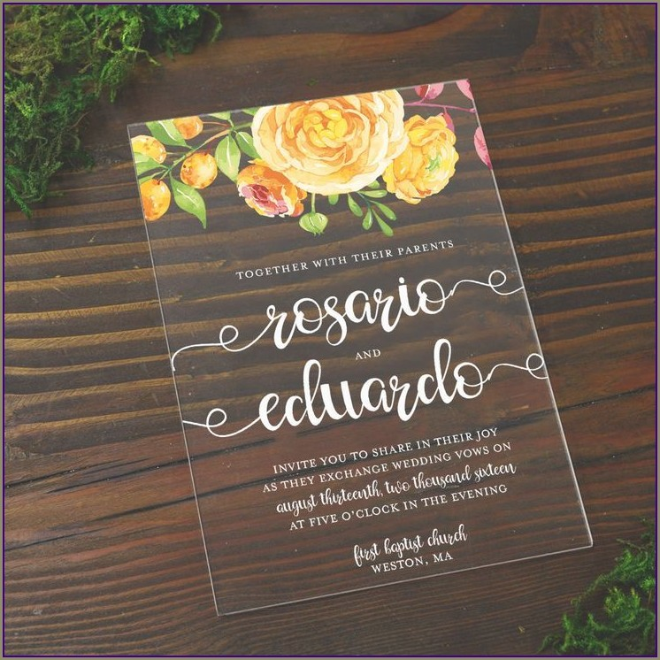 Cards And Pockets Invitations
