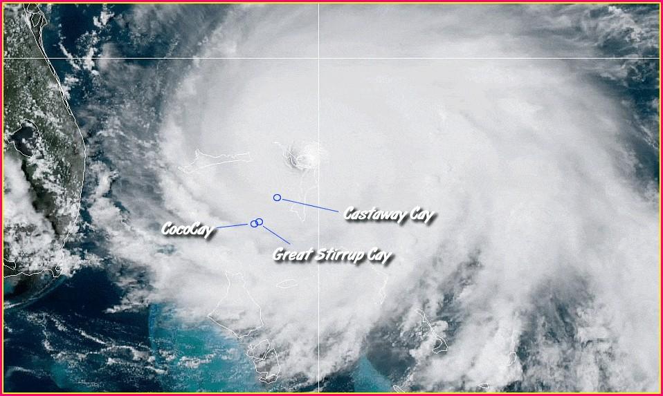 Castaway Cay Map Hurricane