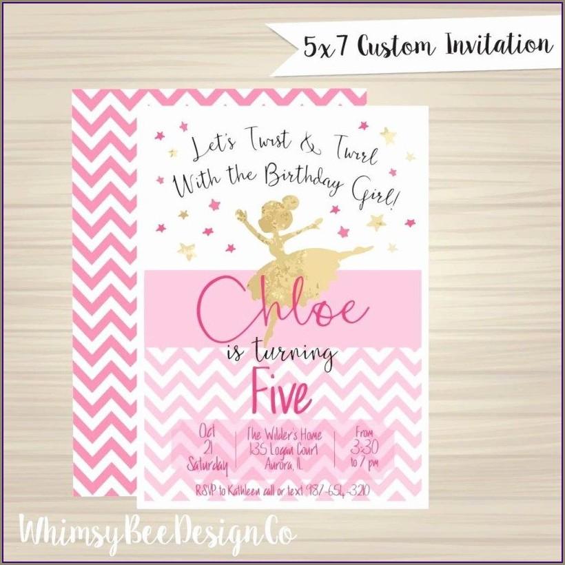 Casual Birthday Invitation Wording