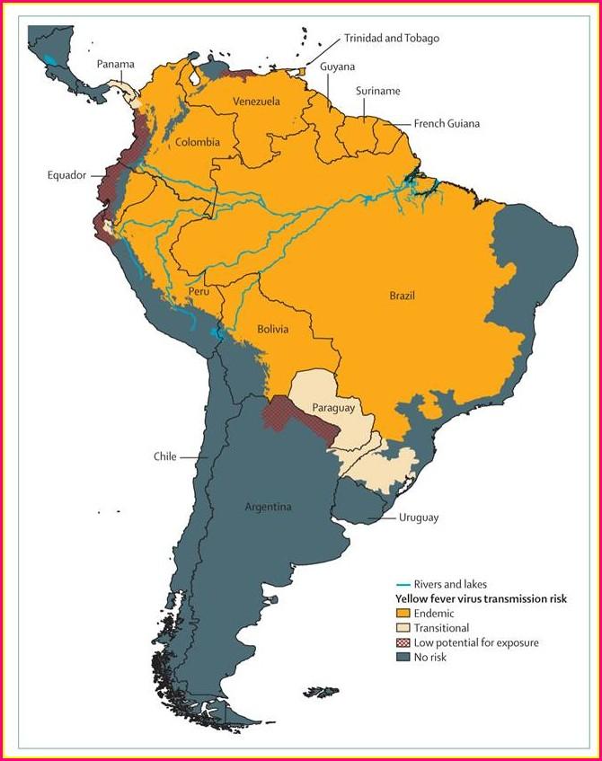 Cdc Malaria Map Colombia
