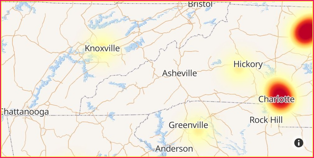 Charter Spectrum Outage Map Asheville Nc